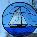 Free-Hanging Friendship Sloop Panel